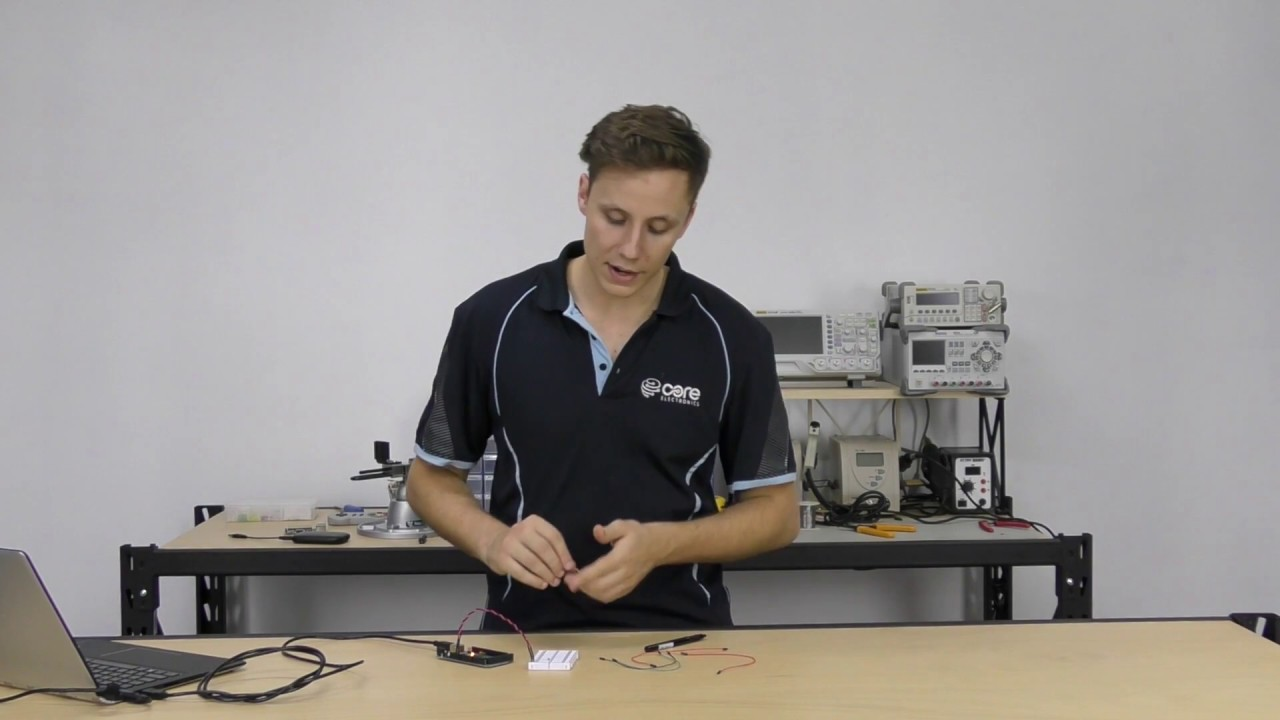 How To Use Solderless Breadboards Video Tutorial Australia Transparent Breadboard Showing The Metal Strips For Tie Related Content
