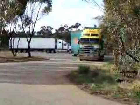 S.S. Freight B/Triple Leaving Northam Hook Up Yard