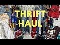 THRIFT HAUL + TRY-ON | NIKE, ADIDAS, FUBU, TOMMY HILFIGER, GAP, STARTER, POLO, LEVIS