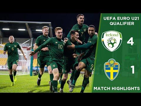 #IRLU21 HIGHLIGHTS | Republic Of Ireland 4-1 Sweden - U-21 European Championships