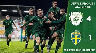 #IRLU21 HIGHLIGHTS | Republic of Ireland 4-1 Sweden - U-21 European Championships