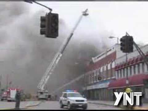 York Nebraska Downtown Fire Part 1