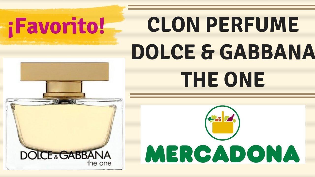 Mercadona imitacion dolce gabbana the one
