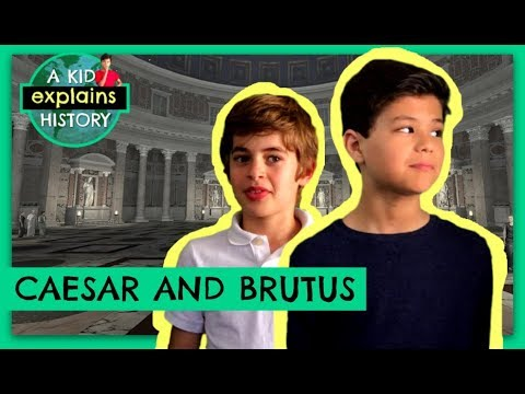 Download WHO WERE CAESAR + BRUTUS?