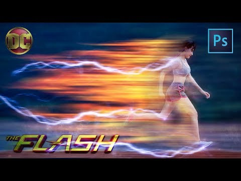 [ Photoshop Manipulation ] The Flash Running Effect Tutorial