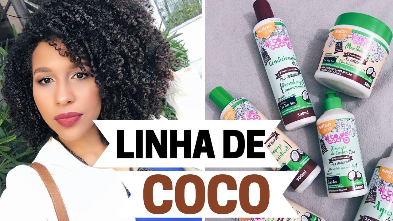 Resenha linha de coco liberada e vegana todecacho salon for Salon de discussion coco