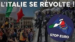 Révolte en ITALIE contre l'UE et l'euro ! (Pas vu à la télé...)