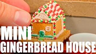 MINI GINGERBREAD HOUSE!