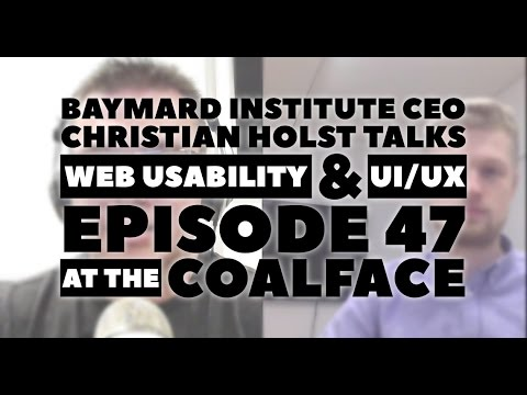 At the Coalface Episode 47: Baymard Institute CEO Christian Holst Talks Web Usability & UI/UX