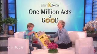 Посмотрите, какой невероятный сюрприз преподнесла Эллен слабослышащему мальчику!