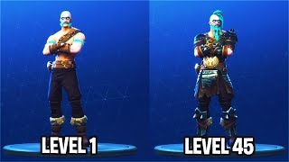 "STAGE 3 ""RAGNAROK"" SKIN UNLOCKED! Fortnite Season 5 Battle Pass Tier 100 Skin Full Upgrade"