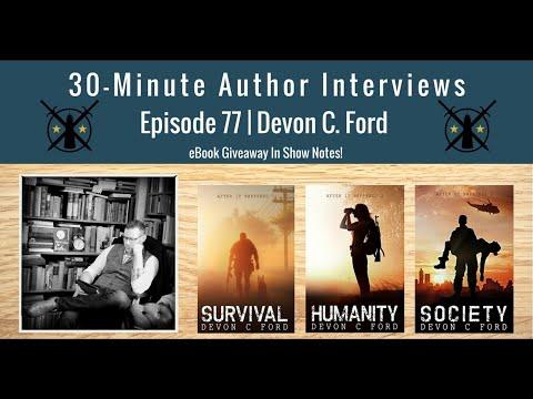 30-minute-author-interviews-|-episode-77-|-devon-c.-ford