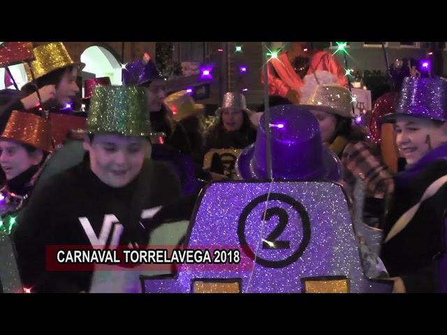 La Alegria del Carnaval desfila por las calles de Torrelavega