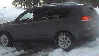 Citroen C Crosser Снег