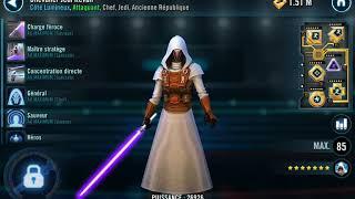 SWGOH GA Rebels vs Jedi Revan
