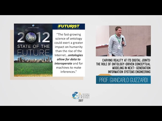 FedCSIS Conference 2017 - Giancarlo Guizzardi