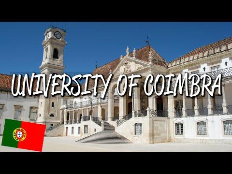 Coimbra University - UNESCO World Heritage Site