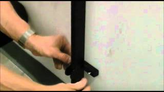 How To Install A Room Divider Wall Frame Mount