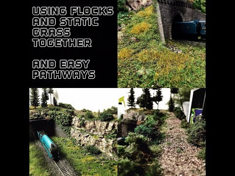 How To Use Flock With Static Grass Building A Model Railway Part 4