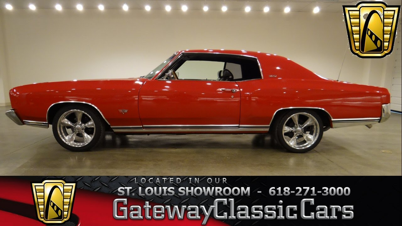1972 Chevrolet Monte Carlo Gateway Classic Cars St