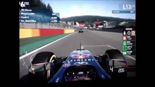 F1 2014| AOR S9 PS3 SunF1 R12: Belgium