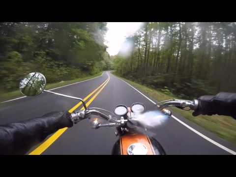 Classic Two-Stroke Fun and a Trip Home