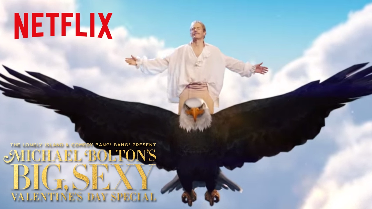 michael boltons big sexy valentines day special psa netflix youtube - Michael Bolton Christmas