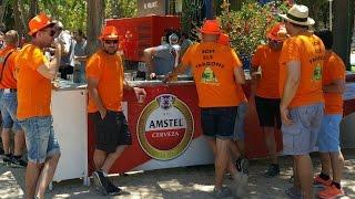 Пиво нахаляву в Испании, в Аликанте, еще бы недвижимость тоже