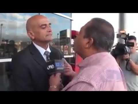 Venezuela / Periodista agrede a embajador de Juan Guaidó