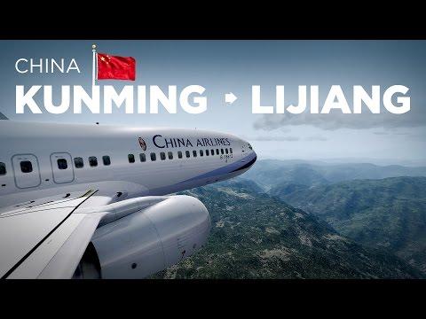 Prepar3D - B737-800 / Kunming → Lijiang na China