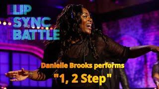 Get it danielle! the girl was movin to that cici classic we all lovefair use#daniellebrooks #ciara #12step #dancing #performance #splitstream #ciara:app...