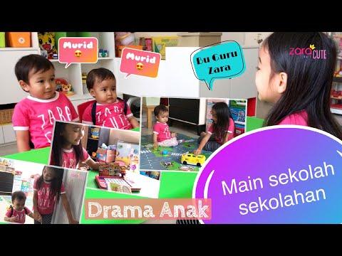 Drama Anak | Zara Cute Main Sekolah Sekolahan | Jadi Guru Dengan Metode Belajar Jepang