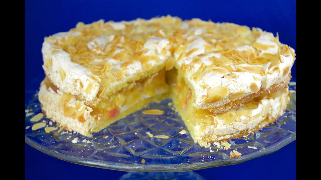 Apfel Baiser Torte Apple Meringue Cake Youtube