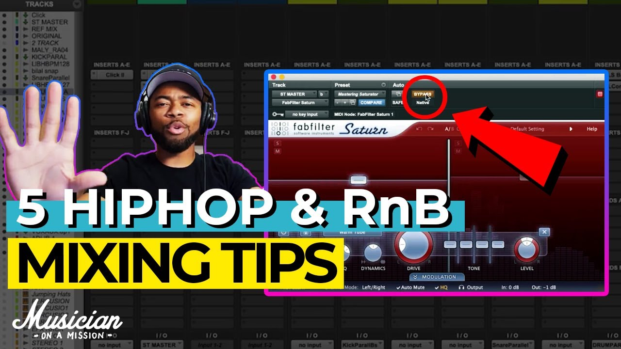 5 Tips for Mixing Hip Hop and R&B