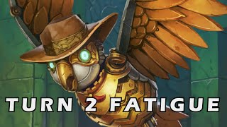 Hearthstone - Turn 2 Fatigue (Top 2 Tavern Brawl)