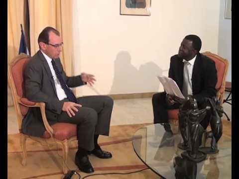 ENTRETIEN Christophe Bouchard ambassadeur de France au Niger sur la Radio et Télévision Labari