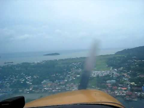 Flying to Calapan Airport in Philippines