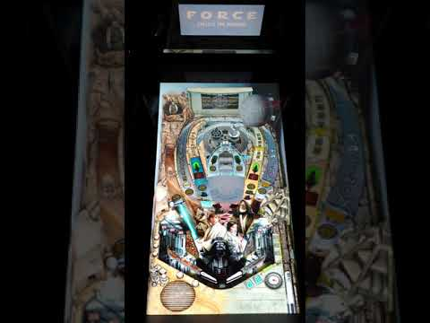 First Look At A New Hope Star Wars Arcade1Up Pinball from scarfwaverly