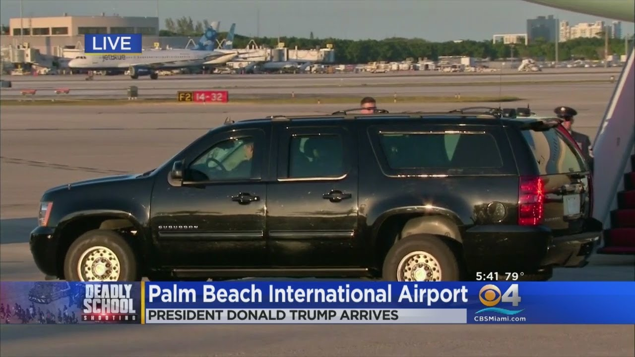 DIGITAL UPDATE: POTUS, Rubio Arrive In South Florida