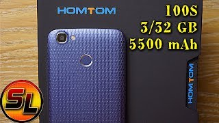 Homtom HT50 полный обзор автономного смартфона с хорошим запасом памяти | review