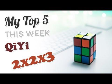 My Top 5 Solves This Week - QiYi 2x2x3