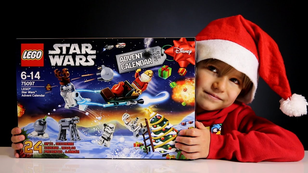 lego disney star wars advent calendar 2015 toys youtube. Black Bedroom Furniture Sets. Home Design Ideas