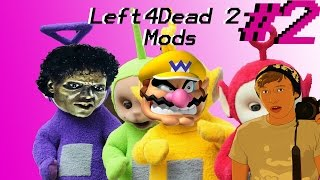 Left4Dead2 Mods Funny Moments - Michael Jackson Zombie, Wario combustion,