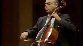 Janos Starker - Bach Cello Suite 3 IV. Sarabande