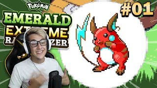 Pokemon Emerald Extreme Randomizer • EVERYTHING IS CHANGED! • #01