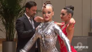 Danila Boriskin - Elizaveta Ulianova, RUS, Final Samba
