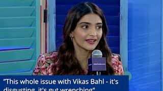 Sonam Kapoor on Vikas Bahl and the #metoo Movement