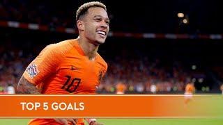 5 jaar Memphis in Oranje | Zijn 5 favoriete goals