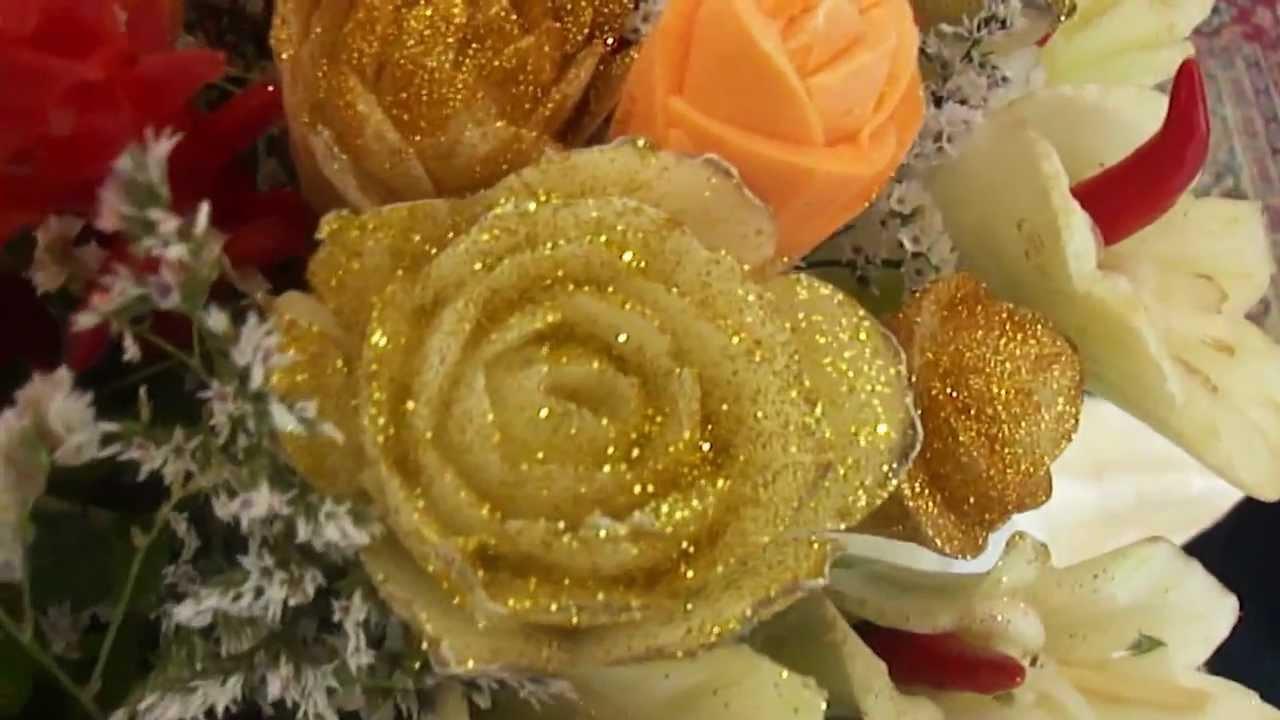 Bouquet Sposa Nozze Doro.Superbouquet Nozze D Oro Youtube