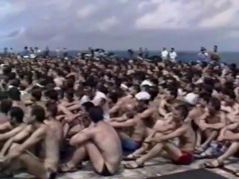 Passage de la ligne Clemenceau Juin 1988 Opération Prométhée